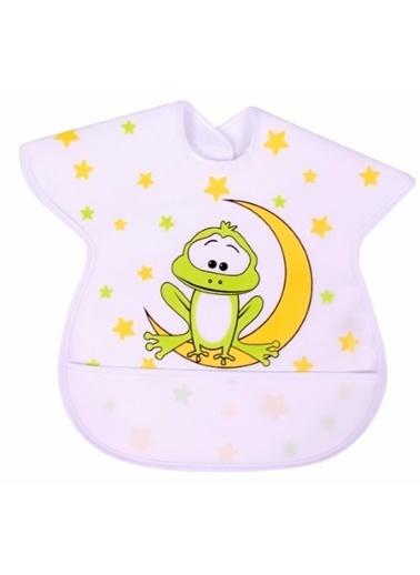 Sevi Bebe Sevi Bebe Büyük Muşamba Önlük  Beyaz